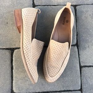 Ran Suede Perforated Loafers